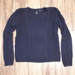 H&M / M / Women's Chunky Cable Knit Sweater